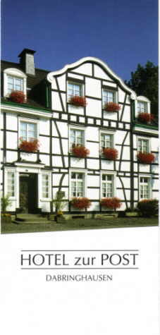 Hotel zur Post Dabringhausen